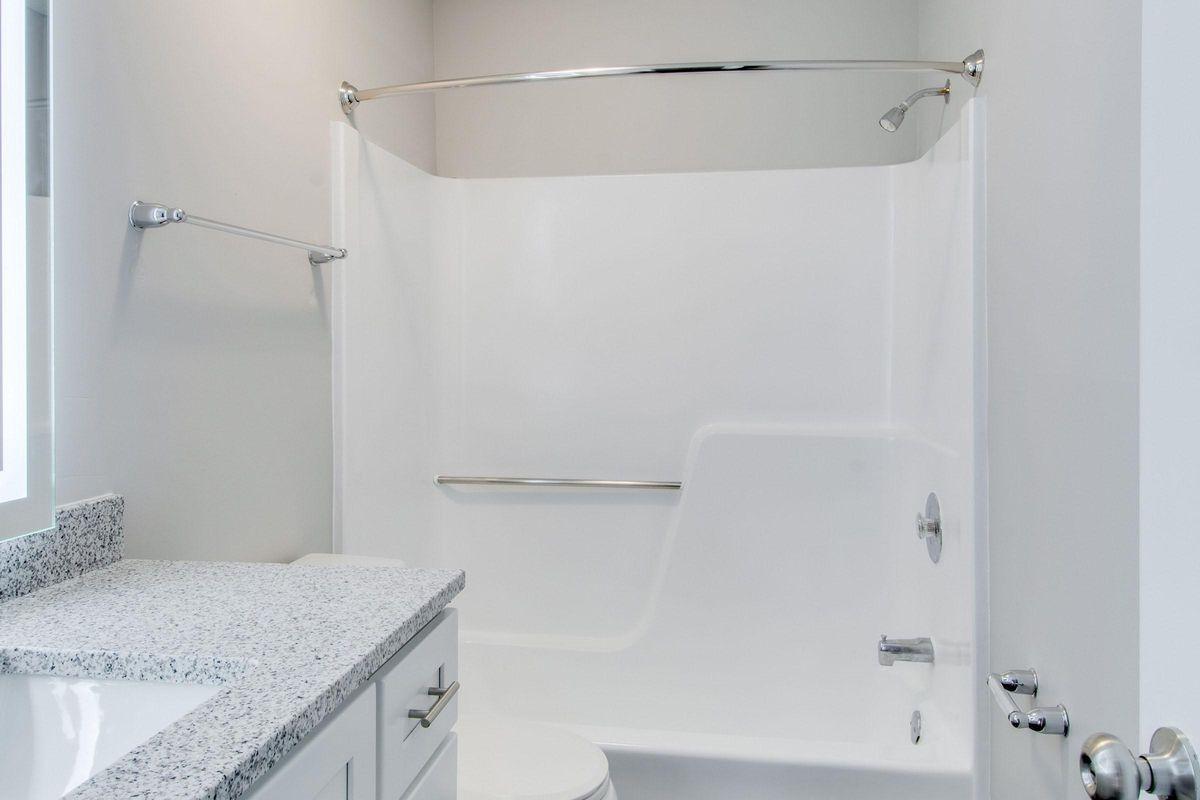 Shower tub combo