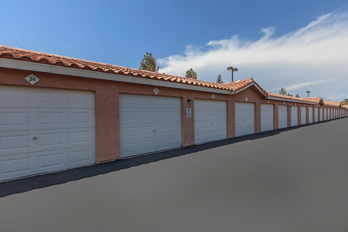 GARAGES AVAILABLE AT DESERT SKY IN LAS VEGAS
