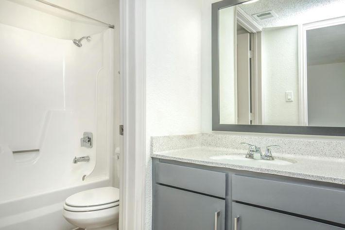 Modern Bathroom at Las Palmas in Las Vegas