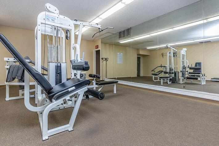STATE-OF-THE-ART FITNESS CENTER AT LAS PALMAS IN LAS VEGAS