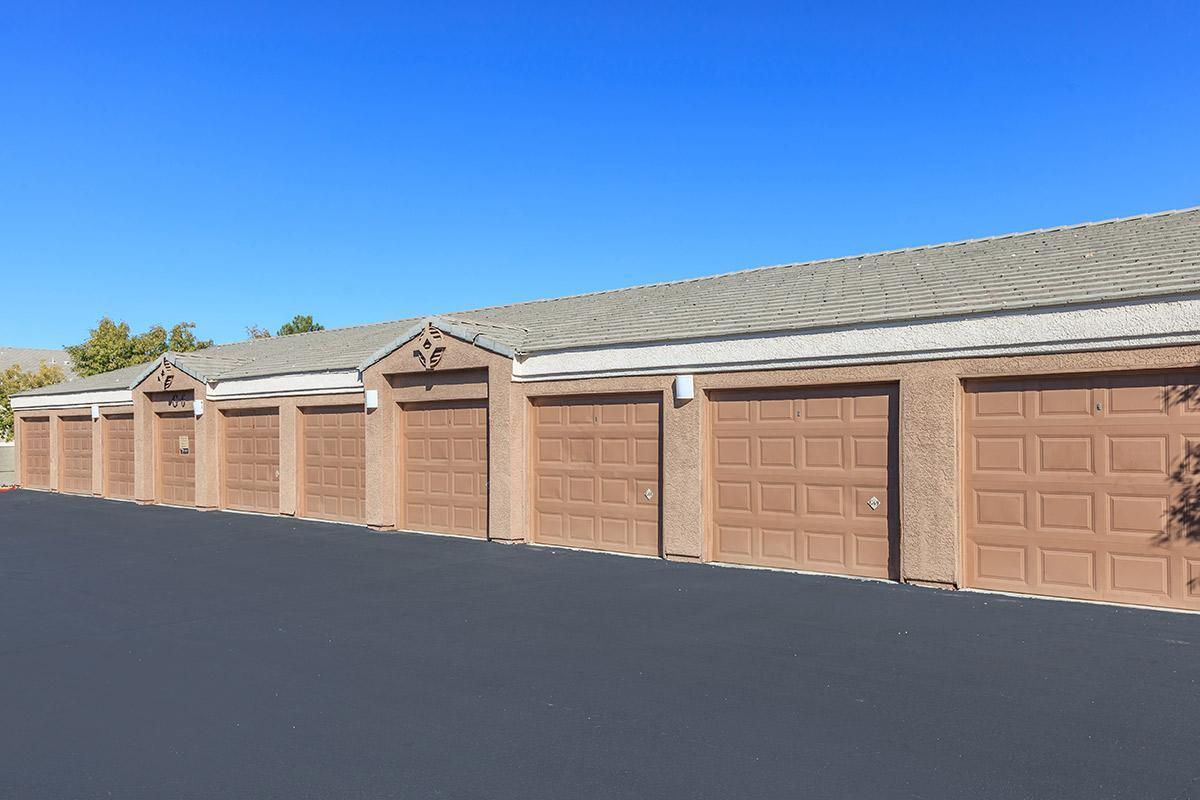 RENTABLE GARAGES AT THE SUMMIT AT SUNRIDGE APARTMENTS IN HENDERSON