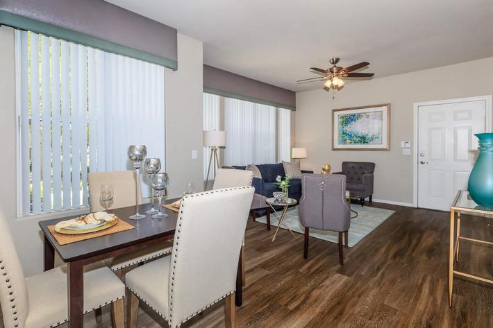 OPEN FLOOR PLANS AT THE SUMMIT AT SUNRIDGE APARTMENTS IN HENDERSON