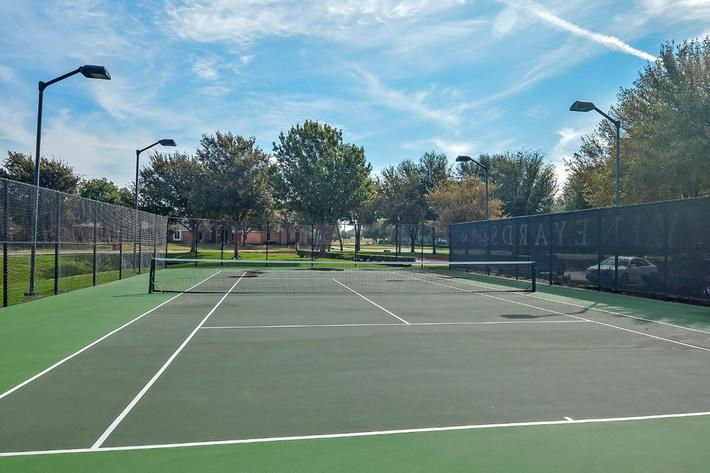 The Vineyards Apartments in Frisco, TX - Tennis Court 02.jpg