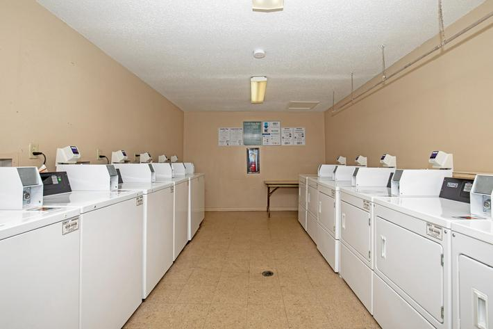 Laundry facility at Innovation Flats