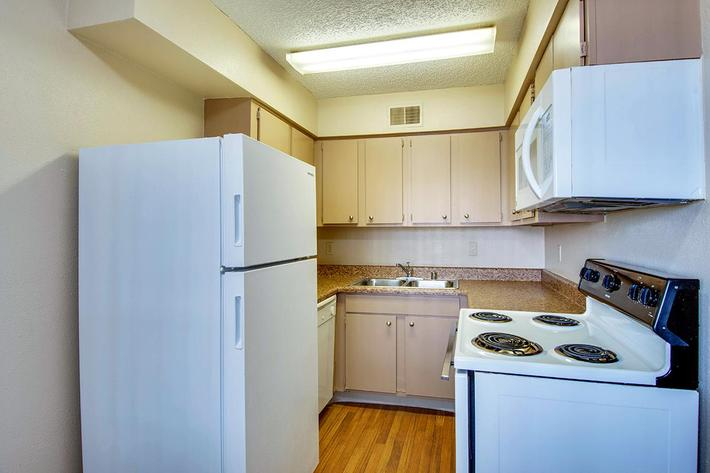 Fully Equipped Kitchen at Innovation Flats at Research Park