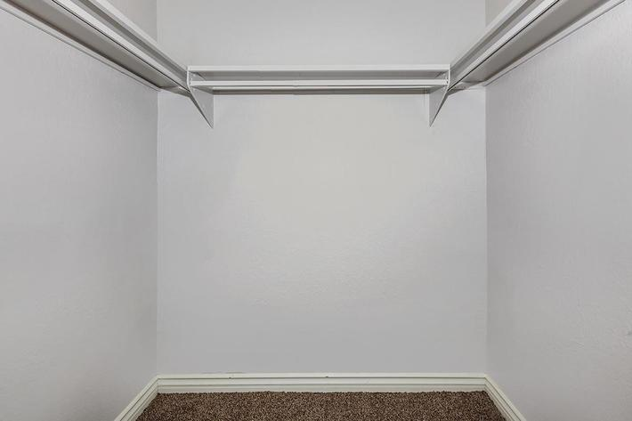 WALK-IN CLOSET AT MOUNTAIN VISTA IN LAS VEGAS, NEVADA