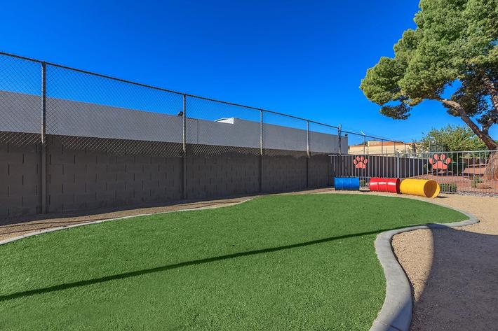 BARK PARK AT MOUNTAIN VISTA IN LAS VEGAS