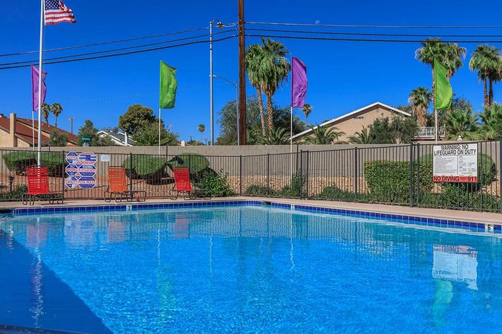 Enjoy the pool at Mountain Vista