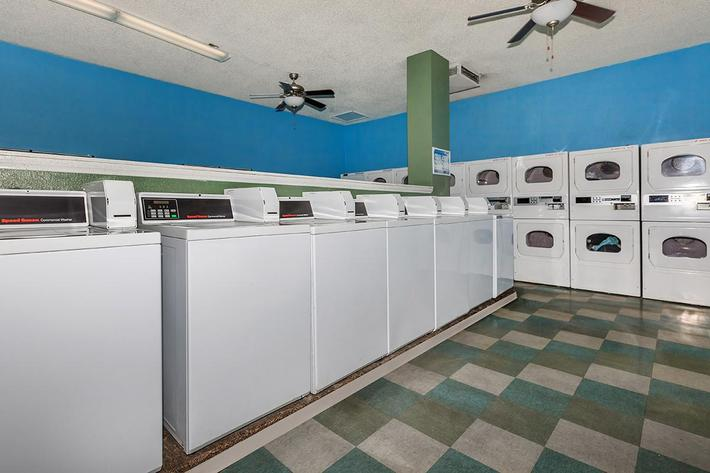 LAUNDRY FACILITY AT MOUNTAIN VISTA IN LAS VEGAS