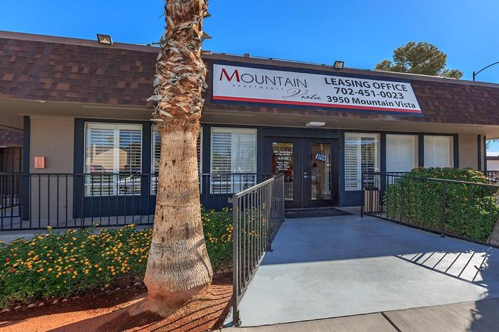 LEASING OFFICE AT MOUNTAIN VISTA IN LAS VEGAS