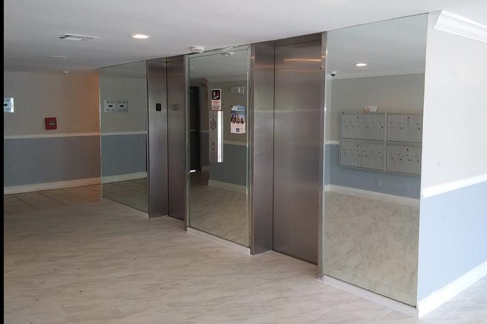 Elevators available at Belaire Tower Apartments Boca Raton, FL.