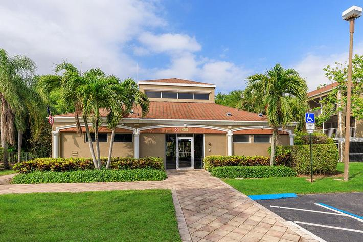 Enjoy our clubhouse at Belaire Tower Apartments Boca Raton, Florida.