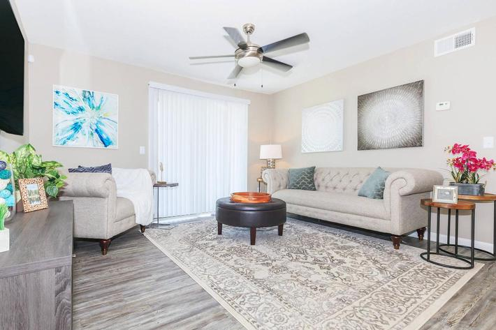 Room to entertain at Ansley at Harts Road in Jacksonville, Florida