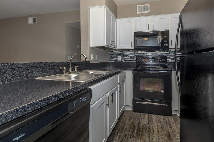 Gourmet kitchen 2 bed 2 bath at Ansley at Harts Road in Jacksonville, Florida