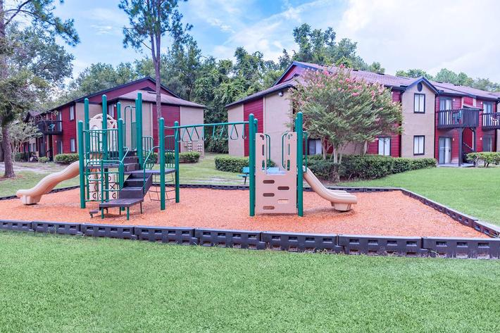 Play area here at Ansley at Harts Road in Jacksonville, Florida