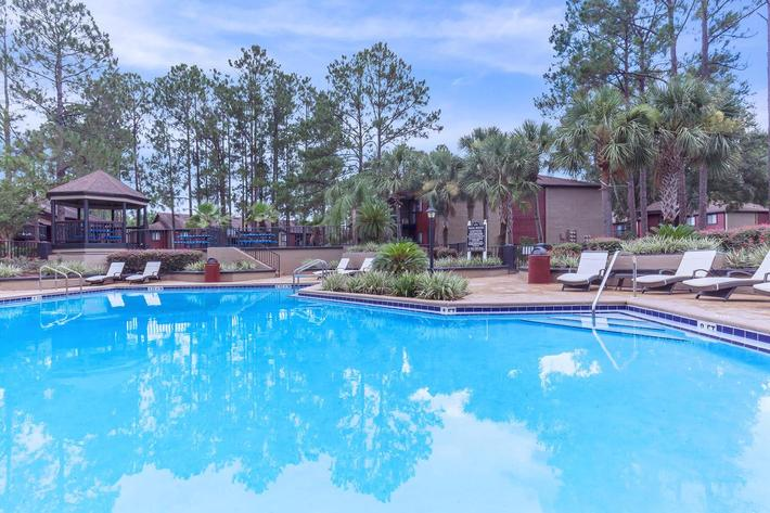 Soak up some rays here at Ansley at Harts Road in Jacksonville, Florida
