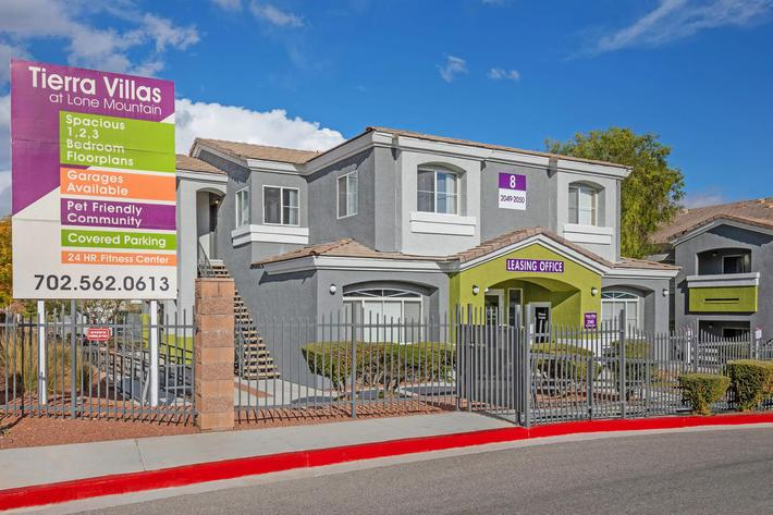 YOUR NEW HOME AT TIERRA VILLAS IN LAS VEGAS