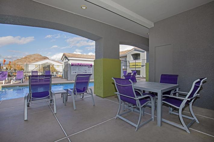 HAVE FUN OUTSIDE AT TIERRA VILLAS IN LAS VEGAS