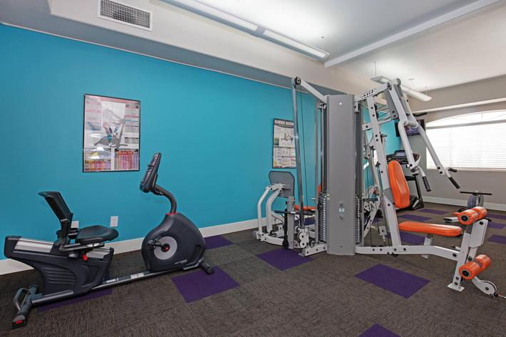 FITNESS CENTER AT TIERRA VILLAS IN LAS VEGAS