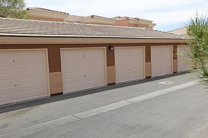 EXTRA STORAGE AT TIERRA VILLAS IN LAS VEGAS