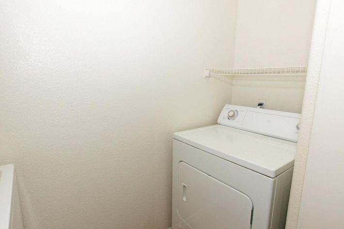 Laundry room at Tierra Villas