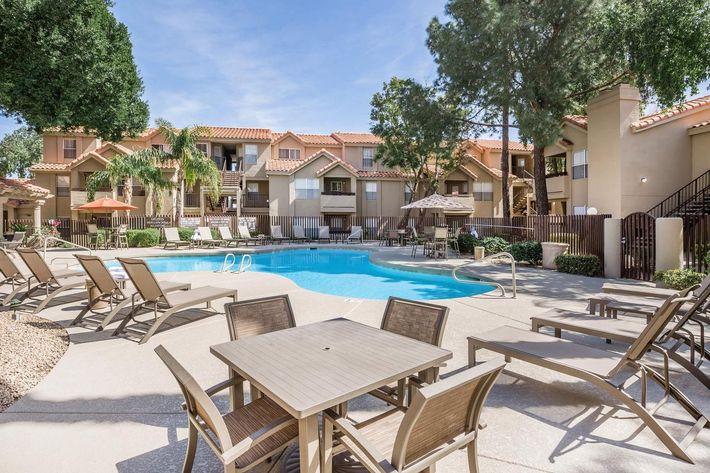 The pool in Phoenix, AZ