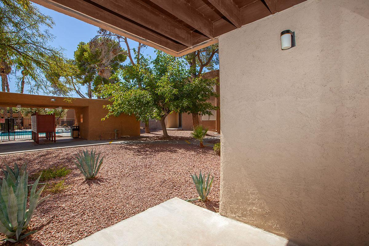 BALCONY OR PATIO AVAILABLE AT GOLDEN POND IN LAS VEGAS