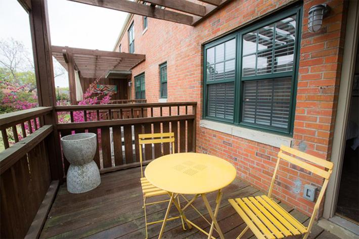 Enjoy the outdoors on your balcony or patio at South Front In Wilmington, North Carolina.
