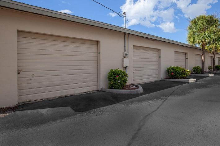 Garages at Wild Pines of Naples Apartments in Naples, Fl
