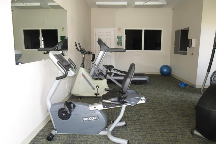 Stretch and step into our fitness center