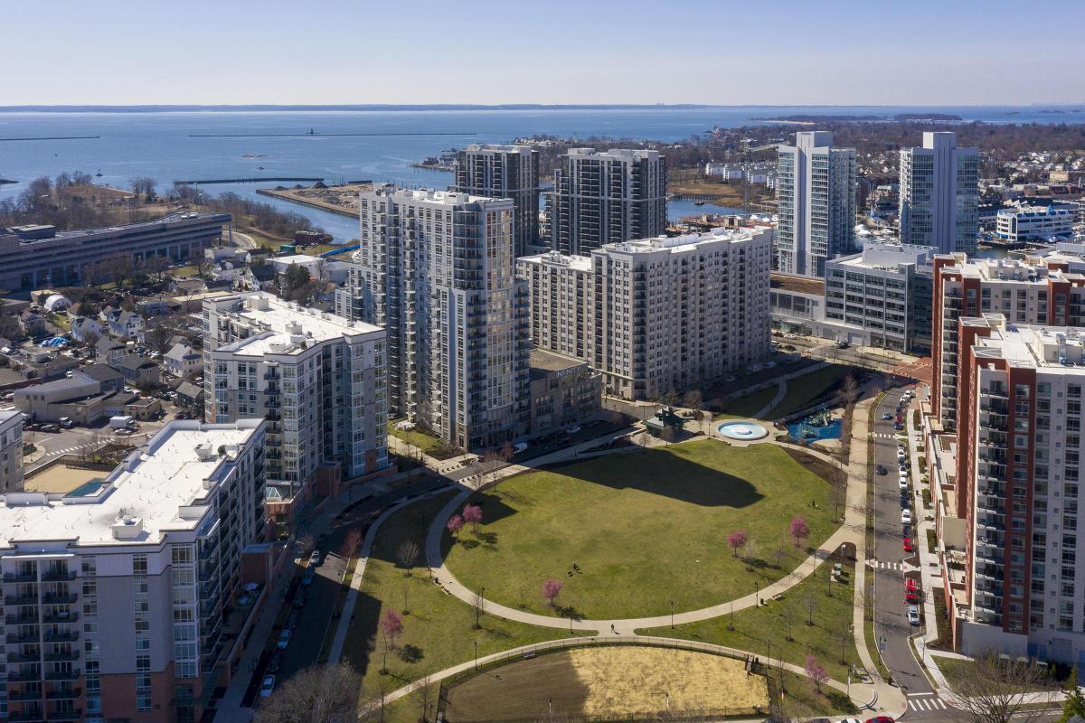 ENJOY BEAUTIFUL VIEWS FROM YOUR 101 PARK PLACE AT HARBOR POINT APARTMENT IN STAMFORD, CT
