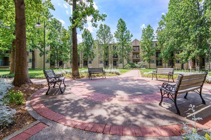 Courtyard at Village at Vanderbilt