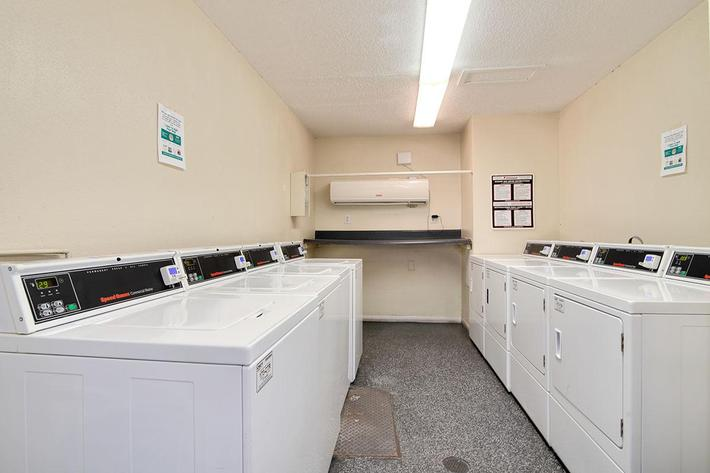 Laundry Facility at Village at Vanderbilt