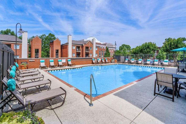 Village at Vanderbilt has a Pool