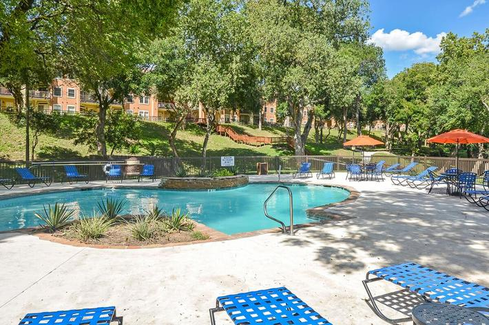 Westshore Colony Apartments in New Braunfels, TX - Swimming Pool 05.jpg