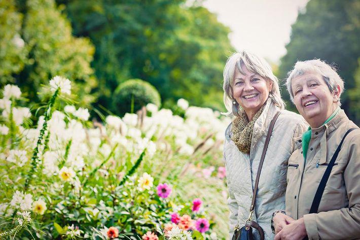Two ladies in garden.jpg