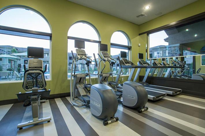 Fitness Center at The View at Horizon Ridge in Henderson, Nevada