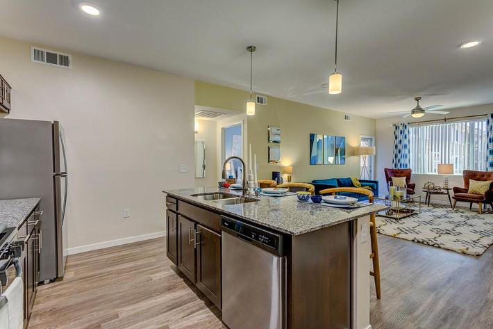 Kitchen at The View at Horizon Ridge in Henderson, Nevada