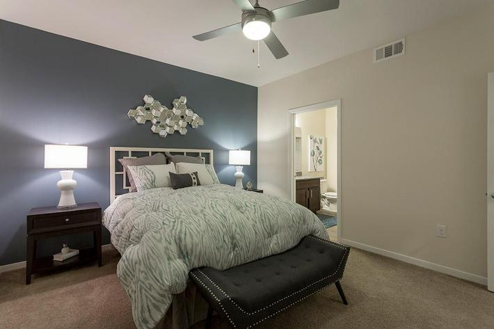 Bedroom at The View at Horizon Ridge in Henderson, Nevada
