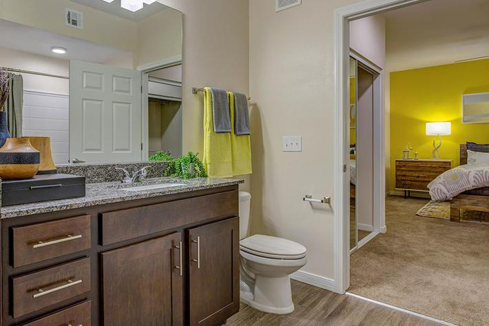 Bathroom at The View at Horizon Ridge in Henderson, Nevada