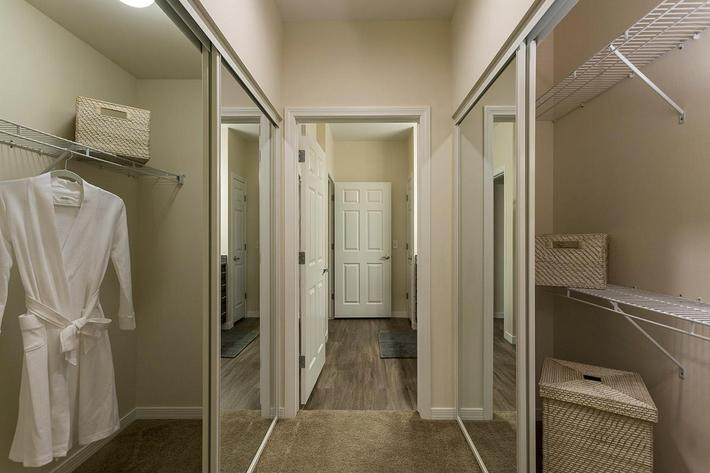 Spacious Closets at The View at Horizon Ridge in Henderson, Nevada