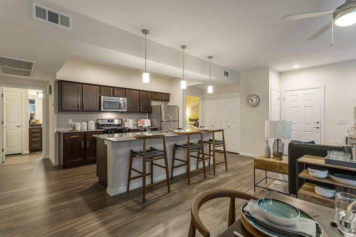 Spacious Floor Plan at The View at Horizon Ridge in Henderson, Nevada