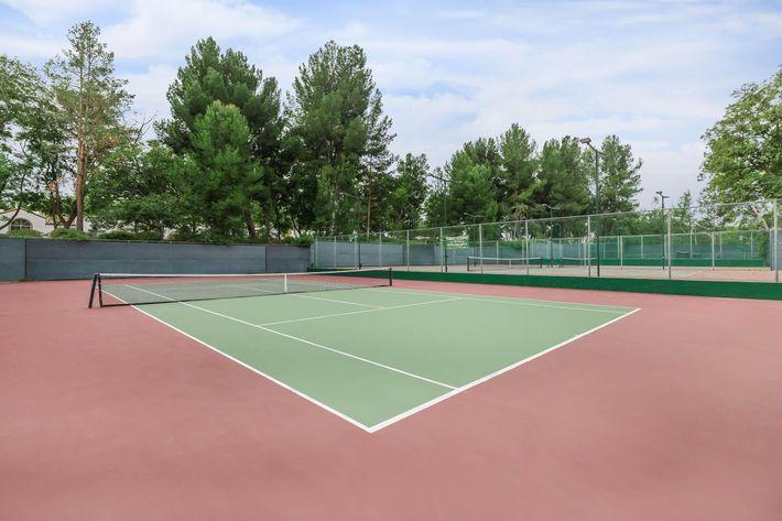 A game of tennis anyone? Summit at Warner Center