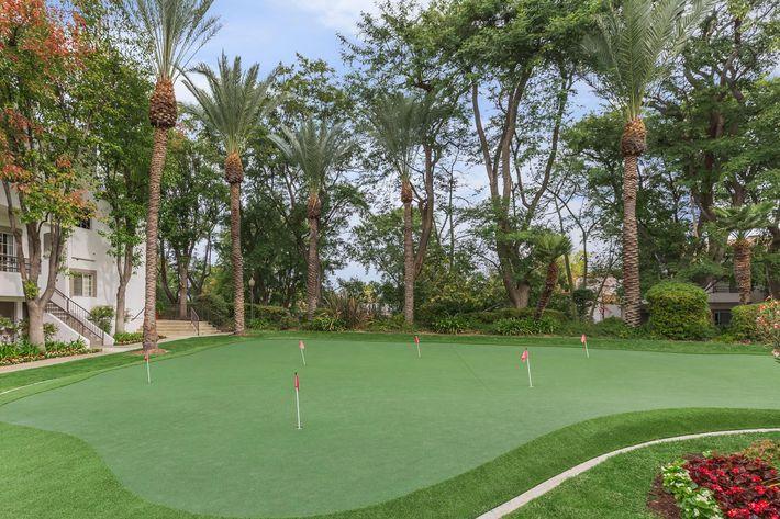 Practice your swing here in Woodland Hills, CA