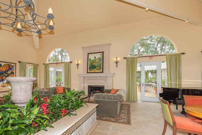Relax in our stunning clubhouse in Woodland Hills, California