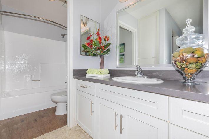 Beautiful bathrooms at Summit at Warner Center