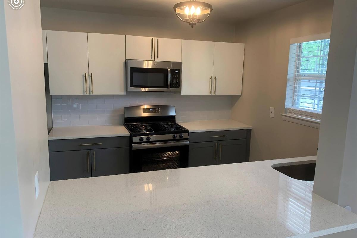 FULLY-EQUIPPED KITCHENS AT THE PARK AT PEACHTREE HILLS