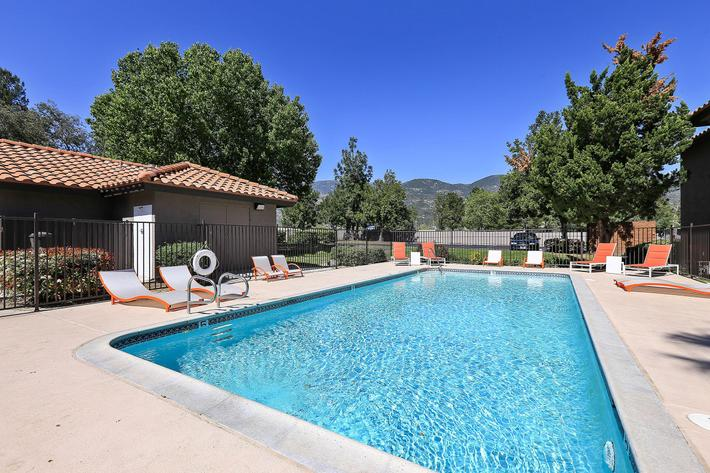 Swimming Pool at The Vue Apartment Homes