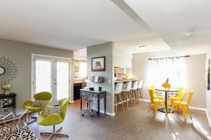 The Vue Apartment Homes Has Energy-Efficient Lighting