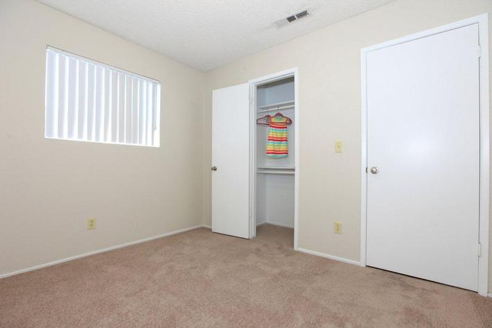 We have large closets at Prescott Pointe